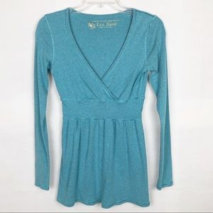 Victoria's Secret V-Neck Long Sleeve Blouse